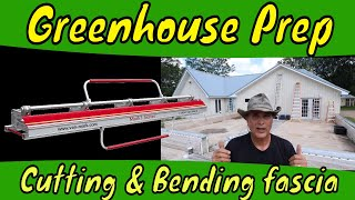 Cutting and Bending Fascia