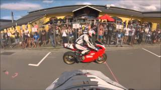 preview picture of video 'Port Nelson Street Races 2014 - 'King of the Port''