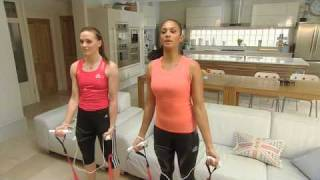 Алиша Диксон, Alesha Dixon and Victoria Pendleton team-up to help get the UK get fitter with EA SPORTS Active