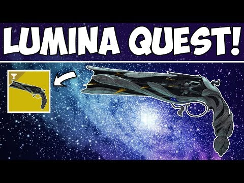 Destiny 2 | Lumina Quest Launch Stream! New Exotic Hand Cannon!