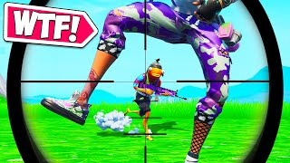 LUCKIEST ACCIDENTAL SNIPE EVER!! – BCC Fortnite Funny Moments #653