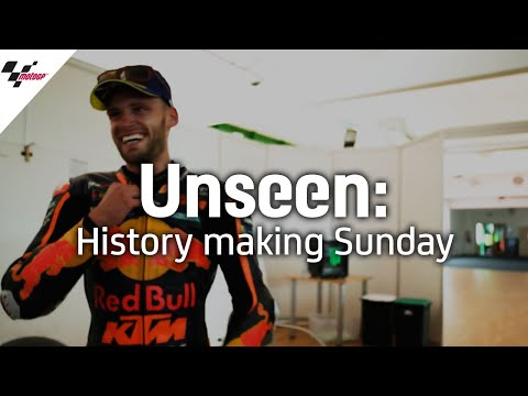 Unseen: Binder's history-making Sunday