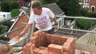 How to re-build a chimney part 1