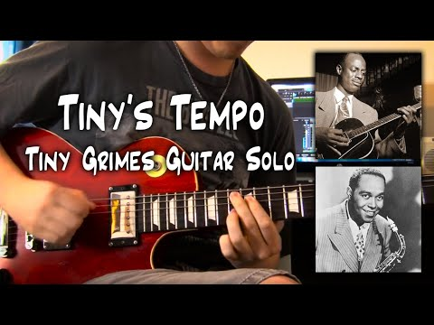 Tiny's Tempo Guitar Solo Transcription