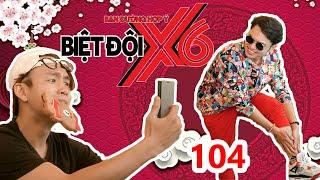 X6 SQUAD  #104  Bao Kun-Hua Minh Dat- Quang Bao feel painful because of GETTING WAXED 😨