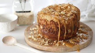 Easy Apple Crumble Bread | Bread Maker Recipe