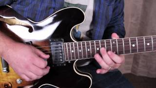 How to Play the Solo From The Beatles, While My Guitar Gently Weeps - George Harrison Eric Clapton