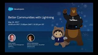 How To Build Better Communities with Salesforce Lightning?