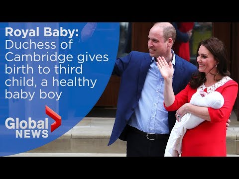 Will and Kate welcome third royal baby: FULL event