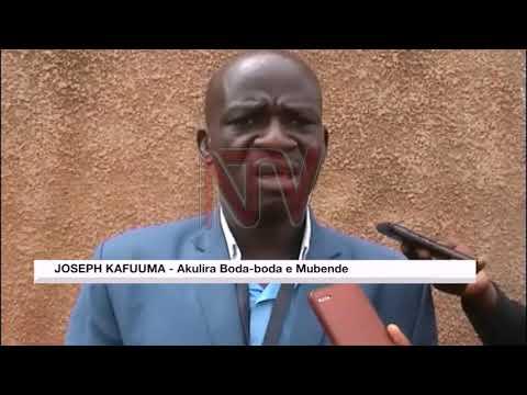 Waliwo abookeza ebyabateeberezebwa okuba Boda Boda e Mubende