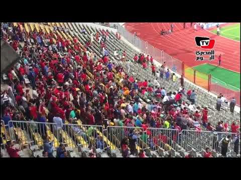 احتفال هستيري لـ«لاعبي وجمهور الأهلي» عقب الهدف الثاني