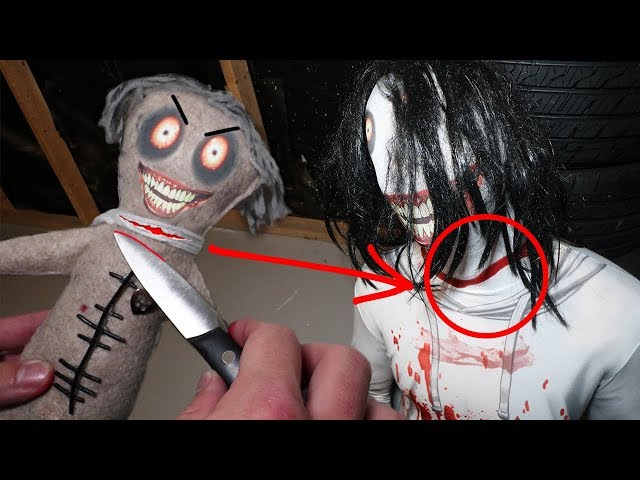 Do Not Make A Jeff The Killer Voodoo Doll At 3am I Did This To Him