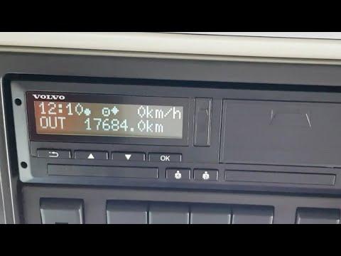 Out of Scope Modus Fahrtenschreiber LKW Digitaler Tachograph