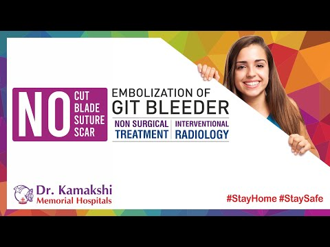 drkmh-Non-Surgical Intervention | Embolization of GIT Bleeder