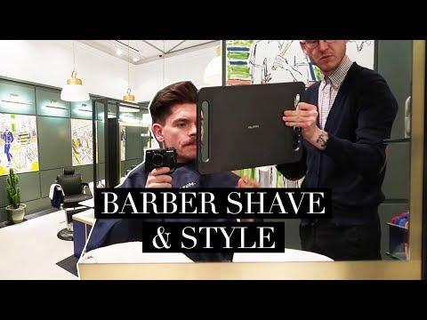 London Barber Shop Shave and Moustache Trim