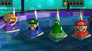 Mario Party 3 - All Racing Minigames