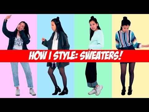 How I Style: Sweaters | Как я ношу: Свитера