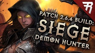 Diablo 3 Season 16 Demon Hunter N6M4 GR 128+ Natalya Marauder build guide Patch 2.6.4