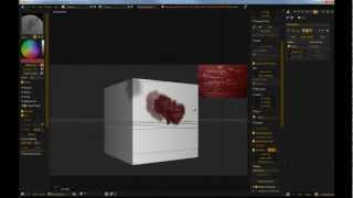 Texture Painting in Blender to Remove Seams and Other UV Unwrapping