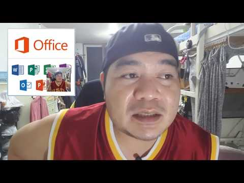How to install Microsoft office (tagalog version) - YouTube