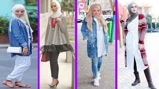Trendy Hijab Street Style Fashion 2017
