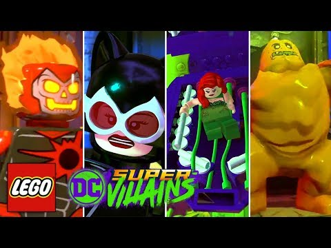 LEGO DC Super Villains - SDCC Trailer! - ALL NEW CHARACTERS + Open World Gameplay!