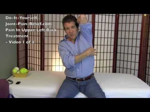 Video Pain In Upper Left Back Treatment - Video 1 of 4