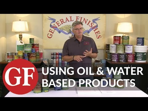 Can Oil and Water Based Products be