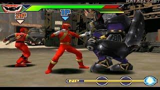 Ninpu Sentai Hurricaneger PS1 (Gao Red X Hurricaneger) Special Story Mode HD