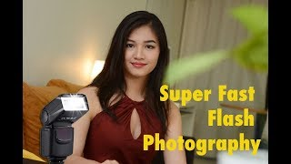 Cool Trick: Super Fast Flash Photography !!