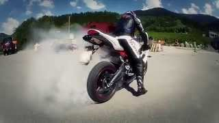 прикольное видео про мотоциклы