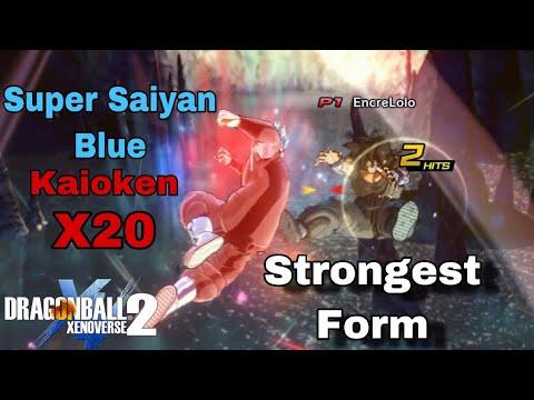 SUPER SAIYAN BLUE KAIOKEN! The STRONGEST Transformation In