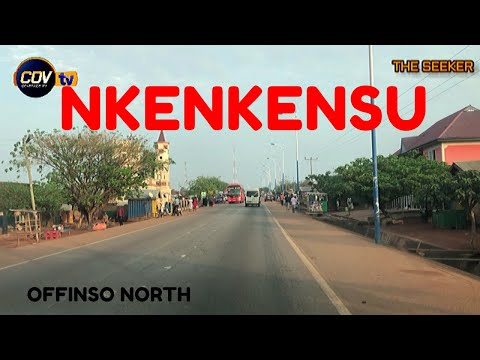Nkenkensu - Offinso North, Ghana:Enjoy the ride with the Seeker