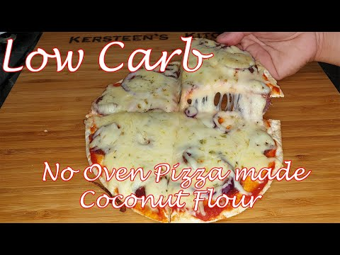 No Oven Pizza made Coconut Flour - Panlasang Lowcarb with Kersteen/LCfied Recipe/Kersteen's Kitchen