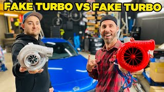 Fake Turbo VS Fake Turbo
