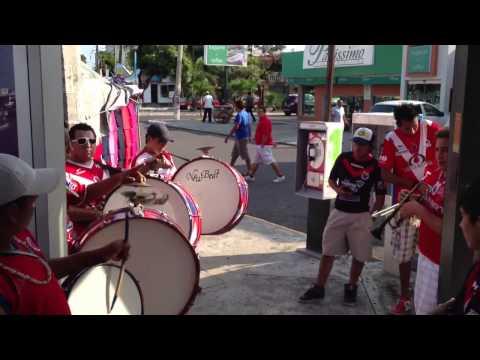 """""""La Murga del Tiburón.!!"""" Barra: Guardia Roja • Club: Tiburones Rojos de Veracruz"""