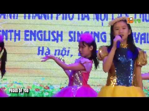 Liên hoan hát tiếng Anh Thành phố lần thứ XVIII - Bill Gates Schools