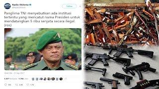Bikin Geger! Panglima TNI Bocorkan Ada Institusi Catut Nama Presiden Untuk Pembelian 5000 Senjata