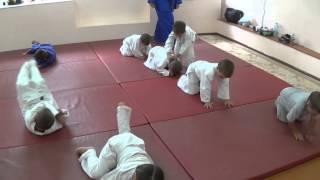 Дзюдо для малышей 4 - 5 лет: тренировка. Часть 1. Centre Judo Kids. Feodosiya