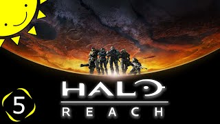 Lets Play Halo Reach | Part 5 - Long Night Of Solace | Blind Gameplay Walkthrough