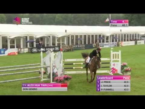 Alex Hua Tian Bramham 2016 Winner - Show Jumping Test