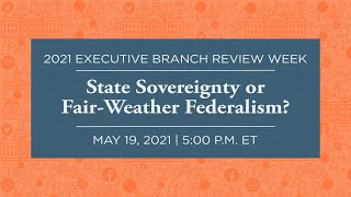 Click to play: State Sovereignty or Fair-Weather Federalism?