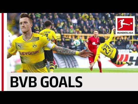 Borussia Dortmund Best Goals Season 2017/18 - Reus, Batshuayi & More