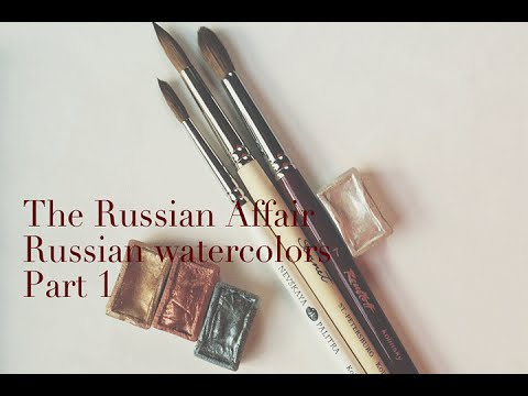 White Nights Watercolor Set-Russian Watercolor Review