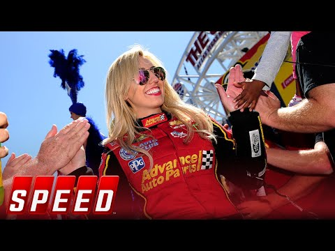 Walk 1000 feet with Courtney Force | NHRA DRAG RACING