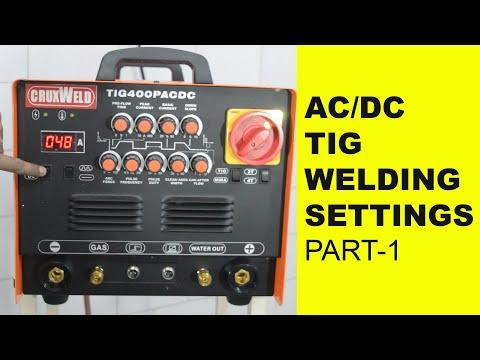 AC/DC TIG Welding Machine
