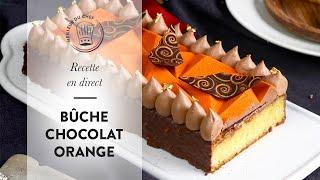 Recette Bûche de Noël : la Bûche Chocolat Orange !