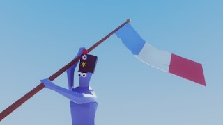Totally Accurate Battle Simulator Napoleonic Flag Bearer And Swordsman