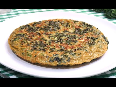 Tortilla de Col Rizada | Berza | Kale