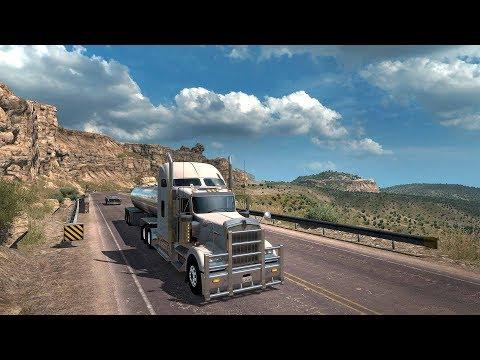 American truck simulator - Day 10